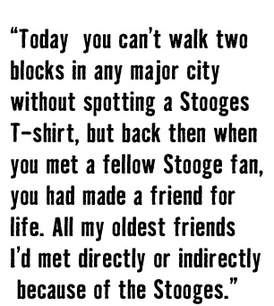 Stooges Pull quote
